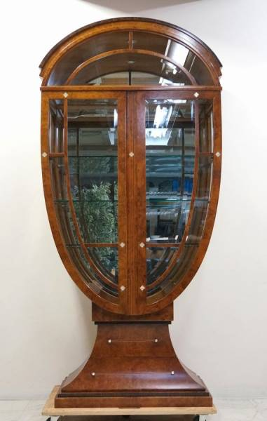 カルパネリ 豪華飾り棚 イタリア 象嵌細工