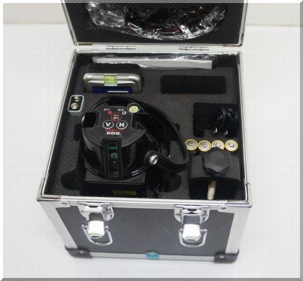 KDS レーザー墨出器 ATL-600+レシーバーLRV-4」